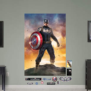 Captain America: The Winter Soldier - Movie Poster Mural